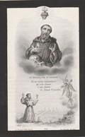 Adolphe Gaspard Schulz-franckfort-anvers 1884 - Devotieprenten