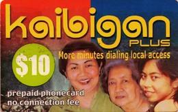 TARJETA TELEFONICA DE ESTADOS UNIDOS (PREPAGO). KAIBIGAN PLUS, $10. (072) - United States