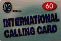 TARJETA TELEFONICA DE ESTADOS UNIDOS (PREPAGO). MG - INTERNATIONAL PREPAID CARD, 60. (073) - United States