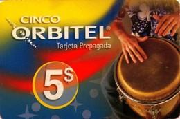 TARJETA TELEFONICA DE ESTADOS UNIDOS (PREPAGO). CINCO ORBITEL, $5. (074) - United States