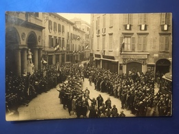 Reggio Emilia Sfilata Fascista Viaggiata 1927 - Reggio Emilia