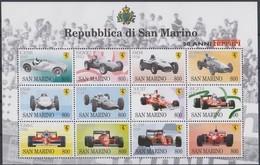 Saint-Marin San Marino 1998  Yvertn° 1549-1560 *** MNH Cote 18 Euro Automobiles Voitures Autos - Neufs