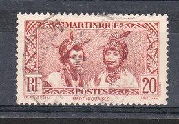MARTINIQUE YT 154 Oblitéré - Martinique (1886-1947)