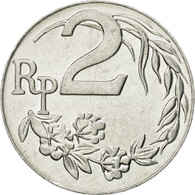 Monnaie, Indonésie, 2 Rupiah, 1970, TTB, Aluminium, KM:21 - Indonésie