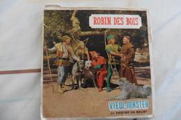 Pochette De 3 Disques View-Master Robin Des Bois Film De 1956 - 21 Photos - Stereoscopic