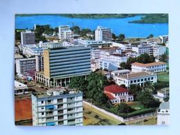 C.P.A. COTE D'IVOIRE : ABIDJAN : Vue Aérienne Sur Le Plateau - Ivory Coast