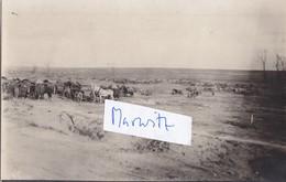 62 Cherisy Trosslager 1918 Train Deutscher Soldat German Soldier Ww1 1.Weltkrieg 14-18 - France