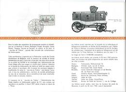 België  O.B.C.   Postfolder  1962    1212     Dag Van De Posrzegel   Namur  (franstalig) - Documentos Del Correo