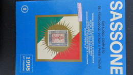 CATALOGO SASSONE COLONIE  OCCUPAZIONI UFF ESTERI 1998 - Italie