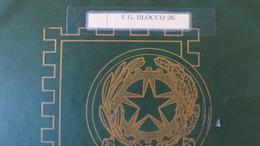 ALBUM TASCHINATO REPUBBLICA FOGLIETTI 1985/2011 NUOVO**- FACCIALE 100 € - Italia