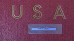USA RACCOGLITORE PARZIALMENTE DA TASCHINARE 1847/1987 - Contenitore Per Francobolli