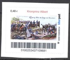 Biber Post Kronprinz Albert (Sieger In Beaumont 1870) (48)  G397 - Privées & Locales
