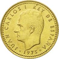 Monnaie, Espagne, Juan Carlos I, Peseta, 1975, TTB, Aluminum-Bronze, KM:806 - [ 5] 1949-… : Regno