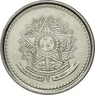 Monnaie, Brésil, 20 Centavos, 1987, TTB, Stainless Steel, KM:603 - Brésil