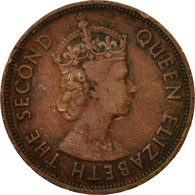Monnaie, Mauritius, Elizabeth II, 5 Cents, 1978, TTB, Bronze, KM:34 - Mauritius