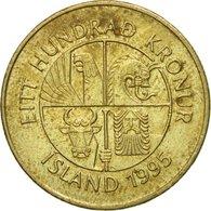 Monnaie, Iceland, 100 Kronur, 1995, TTB, Nickel-brass, KM:35 - Islanda