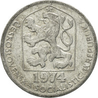 Monnaie, Tchécoslovaquie, 10 Haleru, 1974, TTB, Aluminium, KM:80 - Cecoslovacchia