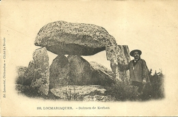 LOCMARIAQUER  -- Dolmen De Kerhan                              -- Laussédat 188 - Locmariaquer