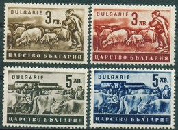 - Bulgaria / Bulgarie 1940 - Set(Mi No (420b,421,422b,423)MNH** - 1945-59 Volksrepublik