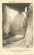 LOCMARIAQUER  -- Intérieur Du Dolmen Des Marchands                              -- Hamonic 108 - Locmariaquer