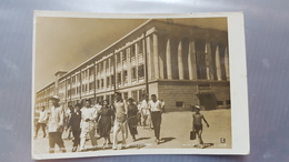 Tajikistan. STALINABAD CITY (DUSHANBE). Pedagogical Technical School  - Old USSR PC. 1930s -  Rare! - Tadjikistan