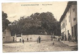 SAINT QUENTIN FALLAVIER - Place De Montjay - Zonder Classificatie