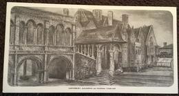 Canterbury, AULANOVA And Norman Staircase - Canterbury