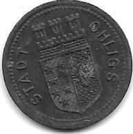 *notgeld Ohligs 5 Pfennig 1917 Zn 10700.1 - [ 2] 1871-1918 : German Empire