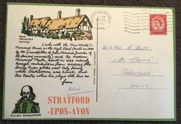 Stratford Upon Avon ~ Various Landmarks ~ William Shakespeare - Stratford Upon Avon