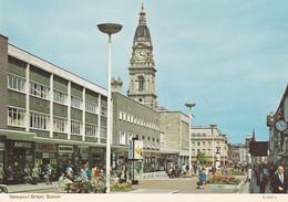 Postcard Bolton Newport Street Animated Shops & People My Ref  B22817 - England