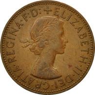 Monnaie, Grande-Bretagne, Elizabeth II, Penny, 1962, TB, Bronze, KM:897 - 1902-1971 : Post-Victorian Coins