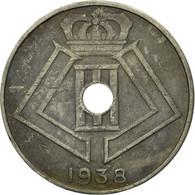 Monnaie, Belgique, 10 Centimes, 1938, TTB, Nickel-brass, KM:112 - 02. 10 Centimes