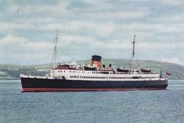 Postcard SS Manxman Isle Of Man Steam Packet Company PU 1971 My Ref  B22818 - Isle Of Man