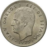 Monnaie, Espagne, Juan Carlos I, 5 Pesetas, 1975, TTB, Copper-nickel, KM:807 - Espagne