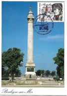 3782 - BICENTENAIRE DE LA BATAILLE D'AUSTERLITZ - Départ De La Grande Armée Vers Austerlitz Au 9/10-07-2005 - - Cartes-Maximum