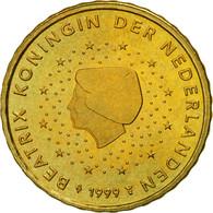 Pays-Bas, 10 Euro Cent, 1999, SPL, Laiton, KM:237 - Paesi Bassi