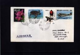 Belize Interesting Airmail Letter - Belize (1973-...)