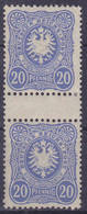 Dt. Reich MiNr. 42IIc ZS * (R 920) - Deutschland