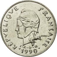 Monnaie, Nouvelle-Calédonie, 20 Francs, 1990, Paris, SPL, Nickel, KM:12 - New Caledonia