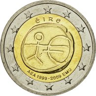 IRELAND REPUBLIC, 2 Euro, 10 Ans De L'Euro, 2009, SPL, Bi-Metallic, KM:62 - Ireland