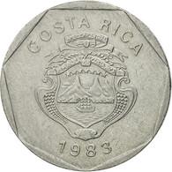 Monnaie, Costa Rica, 5 Colones, 1983, TTB, Stainless Steel, KM:214.1 - Costa Rica