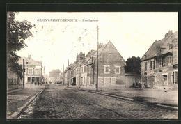 CPA Origny-Sainte-Benoite, Rue Pasteur - Sin Clasificación