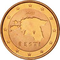 Estonia, Euro Cent, 2011, SPL, Copper Plated Steel, KM:61 - Estonia