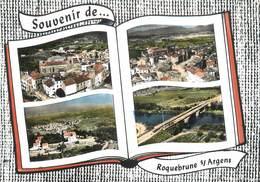 """CPSM FRANCE 83 """" Roquebrune Sur Argens, Vues"""" - Roquebrune-sur-Argens"""