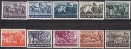- Bulgaria / Bulgarie 1940 - Set(Mi No (412-9,20a,22a)MNH** - Neufs