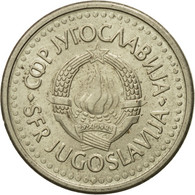 Monnaie, Yougoslavie, Dinar, 1990, TTB, Copper-Nickel-Zinc, KM:142 - Jugoslavia