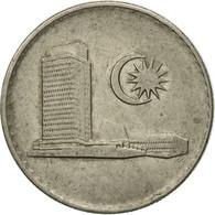 Monnaie, Malaysie, 20 Sen, 1977, Franklin Mint, TTB, Copper-nickel, KM:4 - Malaysie