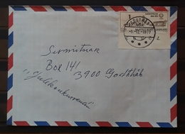 GROENLANDIA 1975 Sirius. Carta Circulada. - Groenlandia