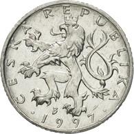 Monnaie, République Tchèque, 50 Haleru, 1997, TTB, Aluminium, KM:3.1 - Repubblica Ceca
