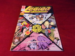LEGION OF SUPER HEROES   No 13 NOV 90  AVEC POSTER - DC